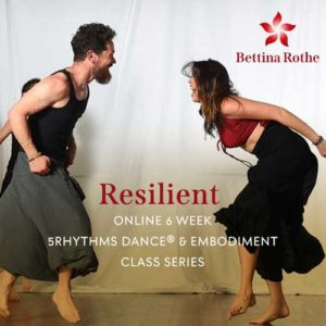 Resilient Online Series with Bettina Rothe flyer