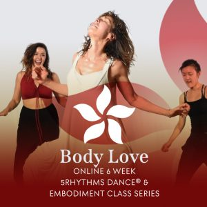 5Rhythms dance and embodiment class series with Bettina Rothe flyer