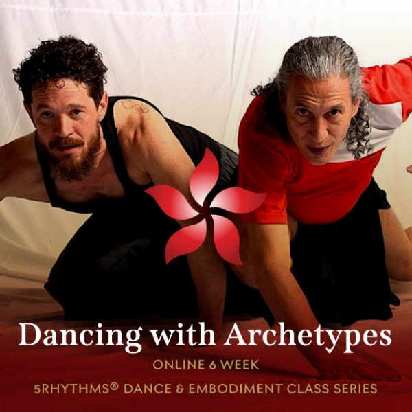 Dancing with archetypes: 5rythms dance online series with Bettina Rothe flyer